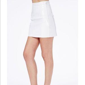 AA White PVC Skirt
